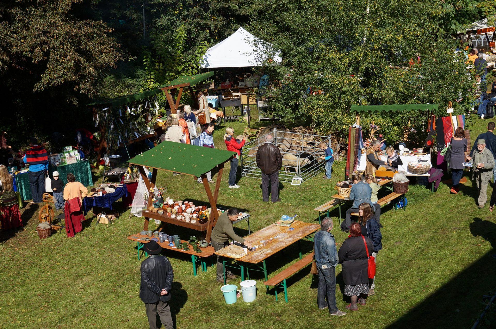 Apfelfest in Buckow